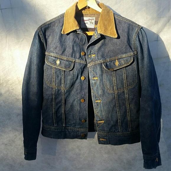 0d8d3d7b Lee Jackets & Coats | Vintage Storm Rider Jean Jacket Sz 38r | Poshmark